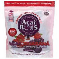 Acai Roots Organic Acai + Guarana, 14 Ounce