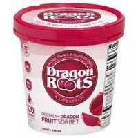 Acai Roots Premium Dragon Fruit Sorbet, 16 Ounce