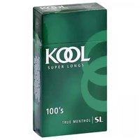 Kool Super Longs Cigarettes, Box, 100's, 1 Each