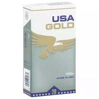 USA Gold Menthol, Green, 100's, Box, 1 Each