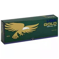 USA Gold Cigarettes, Dark Green Menthol, 1 Each