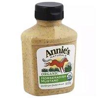 Annie's Naturals Organic Horseradish Mustard, 9 Ounce