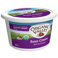 Organic Valley Sour Cream, 16 Ounce