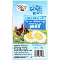 Organic Valley Brown Hard-Boiled Eggs, 2 Each