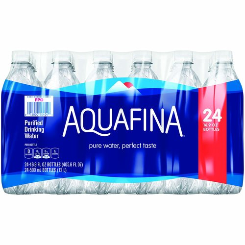 <ul> <li>Pure water, perfect taste.</li> <li>Purified through a rigorous, seven-step process called HydRO-7.</li> <li>Aquafina originates from public water sources and then purified.</li> <li>Fresh and pure, Aquafina is the perfect companion for happy bodies very where.</li> </ul>