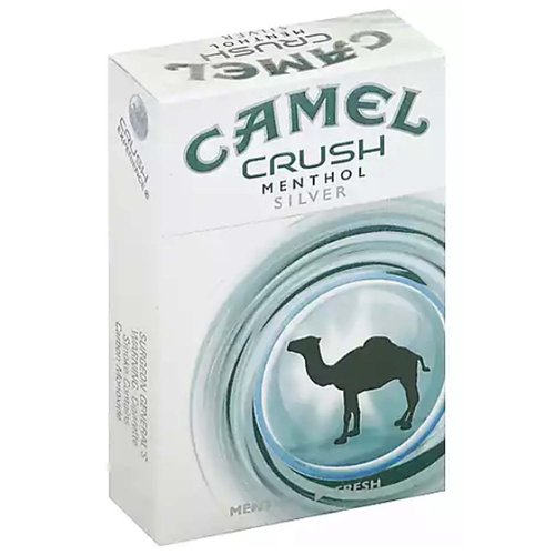 Menthol - Fresh. Menthol freshness on demand. The original squeeze click change. Crush experience. FSC. Class A cigarettes. www.RJRT.com. camel.com. Please don't litter.