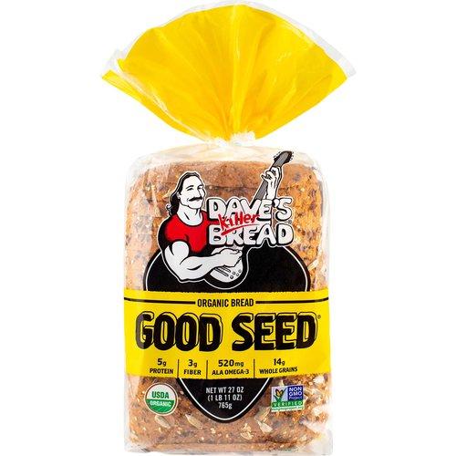 <ul> <li>USDA Organic</li> <li>Non-GMO Verified</li> <li>Per Serving: 5g Protein, 3g Fiber, 520mg Ala Omega-3 & 14g Whole Grains</li> </ul>