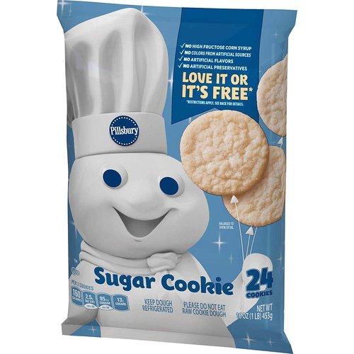 <ul> <li>Makes 24 Cookies</li> <li>Safe to eat raw</li> <li>Eat or bake</li> <li>Keep Dough Frozen</li> </ul>