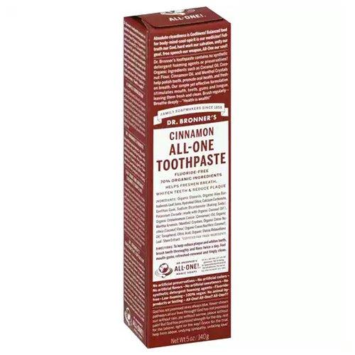 Dr B Cinnamon Toothpaste, 5 Ounce