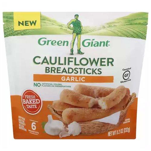 Green Giant Cauliflower Breadsticks, Garlic, 8.2 Ounce