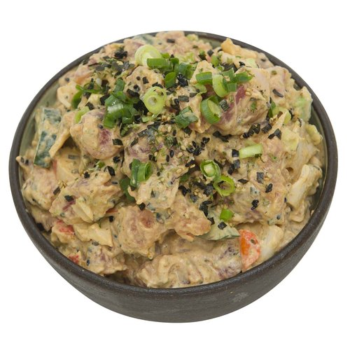Previously frozen California roll ahi poke <br> <br> Please let us know how much poke you would like in the notes at the checkout page.  <br></br> Size Options:  <ul> <li>1/4 Pound</li> <li>1/2 Pound</li> <li>3/4 Pound</li> <li>1 Pound</li> </ul>