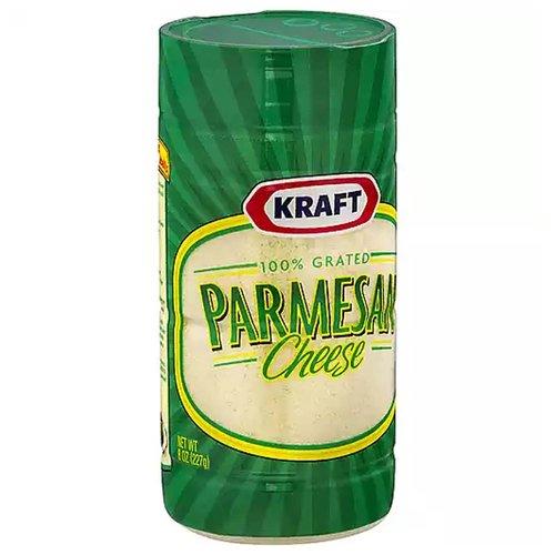 <ul> <li>100% Grated Parmesan Cheese</li> <li>Cheesemaking since 1914</li> <li>Always starts with Fresh Milk</li> </ul>