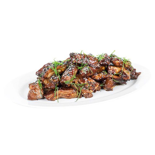 Tender tips, slow braised in an aromatic spiced sauce. <br><br>   Serves 6-8
