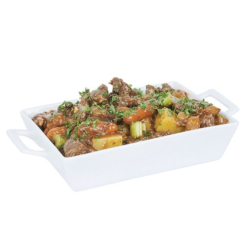 Slow-braised beef with carrots, potatoes, celery and sour poi in a lightly spiced chili pepper-infused broth. <br><br>  Serves 6-8