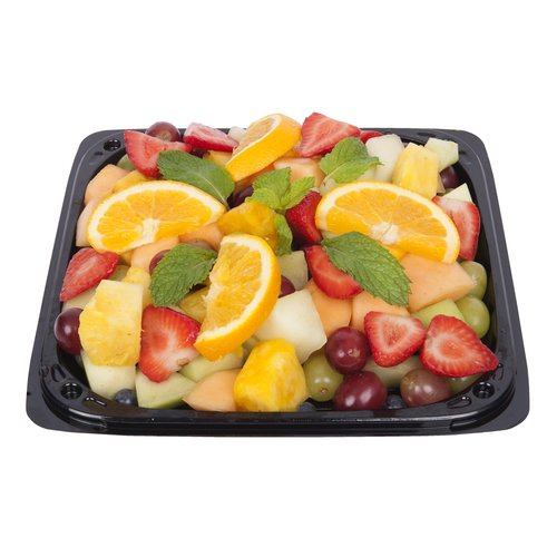 The freshest selection of cantaloupe, pineapple, honeydew, grapes and other seasonal fruits. A must of all parties.  Serves 6-8