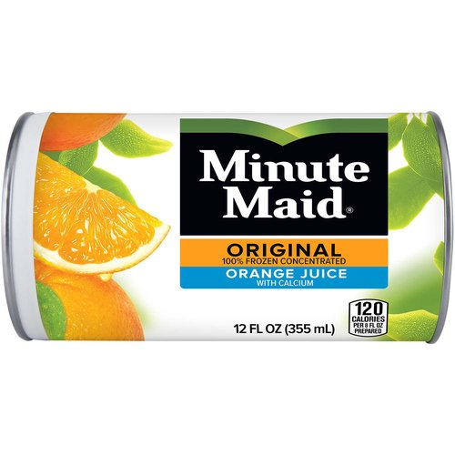 <ul> <li>There's always goodness to be found at the end of a Minute Maid rainbow.</li> <li>Enjoy the pure taste of Minute Maid with friends - anytime, anywhere.</li> <li>Authentic, timeless, and downright deliciously refreshing, Minute Maid Orange Juice is made from perfectly ripe, natural oranges.  Each serving contains 100% or more of the recommended daily value of Vitamin C.</li> <li>Available in on-the-go sizes so you can bring the taste of Minute Maid anywhere you go.</li> </ul>