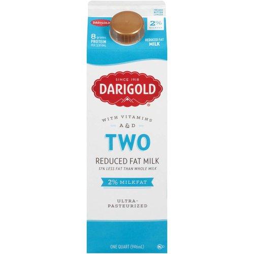 <ul> <li>With Vitamins A&D</li> <li>37% Less Fat than Whole Milk</li> <li>Ultra-Pasteurized</li> <li>Farmer<li>owned Company</li> <li>rbST Free milk</li> </ul>
