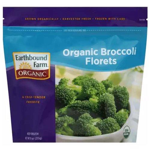 <ul> <li>Grown Organically</li> <li>Harvested Fresh</li> <li>Frozen with Care</li> <li>A Crisp-Tender Favorite</li> <li>USDA Organ</li> <li>Keep Frozen</li> </ul>