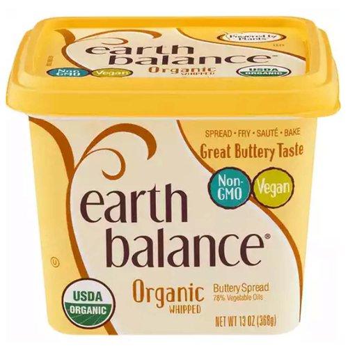 <ul> <li>Spread, Fry, Saute or Bake</li> <li>Great Buttery Taste</li> <li>Non-GMO</li> <li>Vegan</li> <li>USDA Organic</li> <li>78% Vegetable Oils</li> </ul>