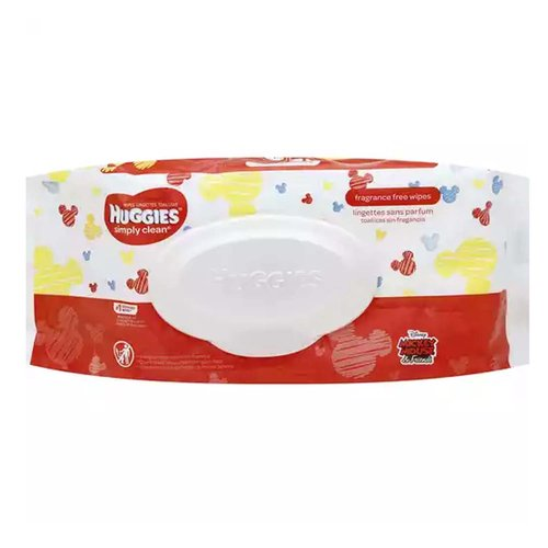 <ul> <li>Family Wipes – Perfect for hands, faces, bottoms and everyday surfaces, providing a gentle and reliable clean for the whole family</li> <li>Grab & Go – Whether it's the kitchen table or the playground, Huggies Simply Clean Wipes provide a reliable clean wherever you are</li> <li>Safe for Sensitive Skin – Made with 99% triple-filtered water, these versatile wipes are gentle on your child's sensitive skin</li> <li>pH Balanced – Simply Clean Wipes are pH balanced to help maintain healthy skin</li> <li>No Harsh Ingredients – Free of lotions, fragrances, parabens, alcohol & dyes and elemental chlorine; does not contain MIT or phenoxyethanol</li> <li>Scented & Unscented Options – Available in Fragrance Free and Fresh Scent varieties</li> <li>Packaging may vary from image shown</li> </ul>