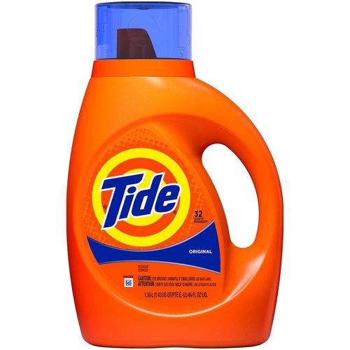 <ul> <li>America's #1 detergent* (*Based on sales, Nielsen laundry detergent category)</li> <li>10x the cleaning power** (**Stain Removal of 1 dose vs. 10X doses of the leading liquid bargain brand)</li> <li>Cleans deep and smells fresh</li> <li>Cleans, freshens, whitens, brightens</li> <li>Measure with cap. For medium loads, fill just below bar 1. For large loads, fill just below bar 3. For HE full loads, fill to bar 5. Add clothes, pour into dispenser, start washer</li> <li>Infused with the Original Scent you love</li> </ul>