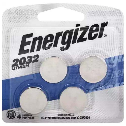 Energizer Batteries, Lithium, 2032, 1 Each
