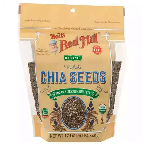 An employee-owned company. You can see our quality. To your good health Bob Moore. Sourced Non-GMO Pledge. Gluten free. USDA organic. Tested and confirmed gluten free in our quality control laboratory. Certified Organic by QAI. Dear Friends, When it comes to grains, beans and seeds, we think nature got, it right. In their original state, these wholesome foods provide a magnificent combination of nutrients that are essential to health. We honor this innate perfection by keeping our foods simple, and our flaxseeds are an excellent example of that practice. They are simply seeds from the flax plant, with nothing added and nothing removed, offering 8 grams of fiber and 5790 mg of oemga-3s per serving and boasting a wonderfully nutty flavor. It doesnt get much simpler than that. And we think that's just how it should be. To your good health. - Bob Moore. Sourced Non-GMO Pledge: For more information on our sourced Non-GMO pledge, visit bobsredmill.com/non-GMO.
