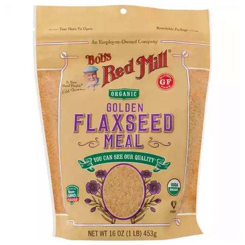<ul> <li>Organic Golden Flax Seed Meal</li> <li>Gluten Free</li> <li>USDA Organic</li> <li>Non GMO</li> </ul>