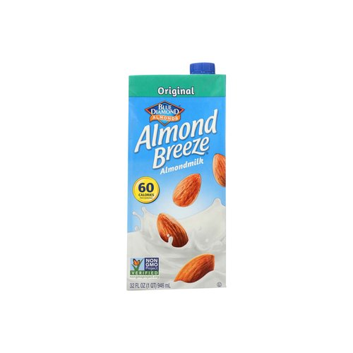 <ul> <li>Blue Diamond Almond Breeze Original Almondmilk</li> <li>From the Almond People</li> <li>The Best Almonds Make the Best Almondmilk</li> <li>Satisfaction Guaranteed</li> <li>For over 100 years, our family of California almond growers has been dedicated to caring for Blue Diamond's almonds.  Many of our growers are small families who have been proudly nurturing their orchards for generations.</li> </ul>
