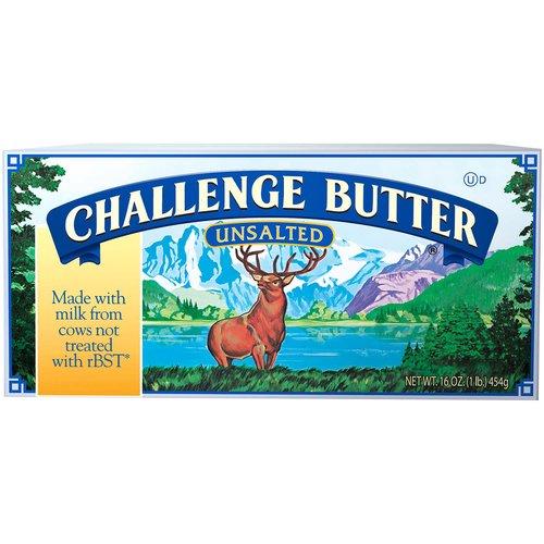 <ul> <li>Unsalted Butter</li> <li>Made with Milk from cows not treated with rBST.</li> <li>Grade AA</li> <li>No rBST Growth Hormone</li> <li>Churned daily from pasteurized sweet cream</li> <li>First Quality</li> <li>Perishable, Keep refrigerated</li> </ul>
