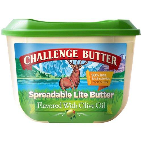 50% less Fat & Calories than Butter