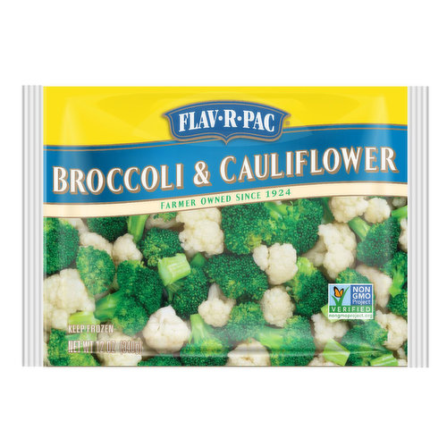 Flav R Pac Broccoli Cauliflower, 12 Ounce