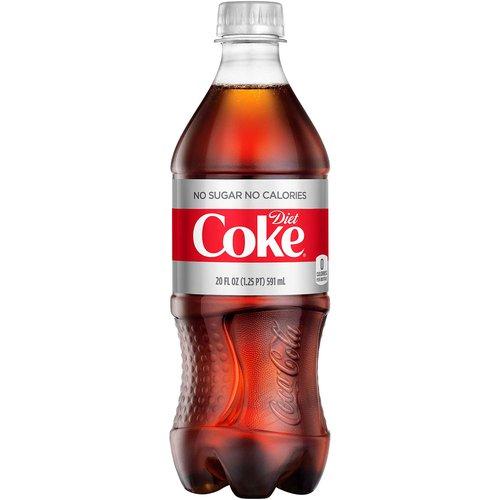 <ul> <li>No calories, sugar-free</li> <li>20 FL OZ per bottle of diet soda</li> <li>A delicious, crisp, sparkling cola for the refreshment you want</li> <li>76.7 mg of caffeine per 20 fl oz serving</li> <li>Your perfect everyday pleasure</li> </ul>