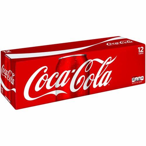 <ul> <li>This sparkling beverage is best enjoyed ice-cold for maximum refreshment.</li> <li>12 cans of Coca-Cola Original Taste—the refreshing, crisp taste you know and love.</li> <li>Great taste since 1886.</li> <li>12 fluid ounces in each can.</li> <li>34 mg of caffeine in each 12 oz serving.</li> </ul>