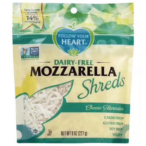 Follow Your Heart Cheese Alternative, Dairy-Free, Mozzarella, Shreds