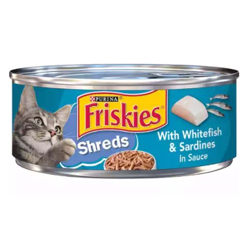 <ul> <li>Real whitefish and sardines for the ocean flavors cats love</li> <li>Savory sauce adds flavor and moisture</li> <li>Tender shreds offer a tempting texture</li> <li>100% complete and balanced for adult cats and kittens</li> <li>Proudly manufactured in our Purina-owned U.S. facilities</li> <li>Contains essential vitamins and minerals</li> <li>Packaged in eco-friendly recyclable cans</li> </ul>