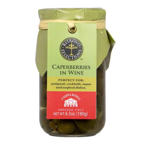 Casina Rossa Caperberries, 180 Gram