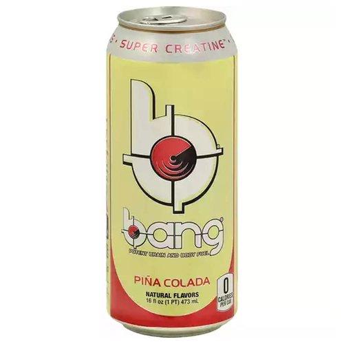 Bang Energy Drink, Pina Colada, 16 Ounce