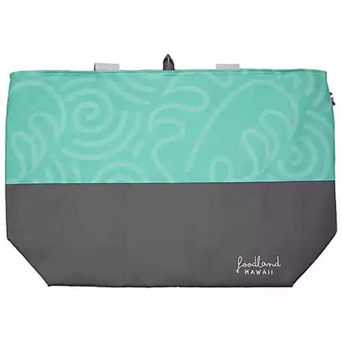 Foodland Hawaii Cooler Bag, Mint, 1 Each