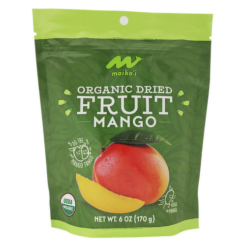 Organic Dried Mangos  No added sugar, just organic, pure dried mango slices.  No added sulphates or preservatives, so our mango slices may vary in color.  Internationally sourced, from a variety of mango types.