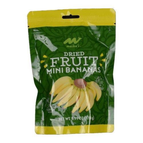 Maika'i Dried Mini Bananas, 6 Ounce