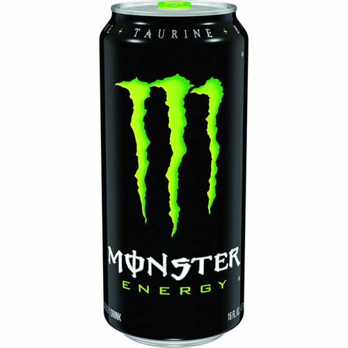 Monster Energy Blend: Glucose, taurine, panax ginseng extract, l-Carnitine, caffeine, glucuronolactone, inositol, guarana extract, maltodextrin. Caffeine from All Sources: 80 mg per 8 fl. oz. serving (160 mg per can). Assassin's Creed Origins. (hashtag)Monstergaming. www.monsterenergy.com.