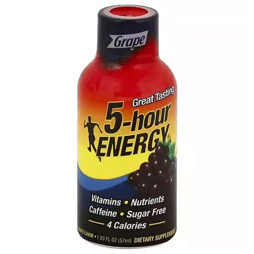 5-Hour Energy Shot, Grape, 1.93 Ounce