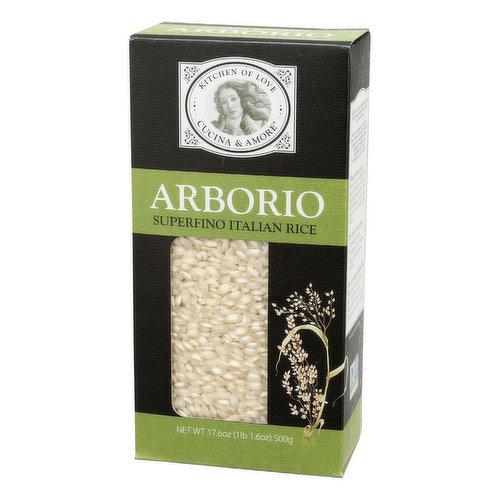 Cucina & Amore Arborio Superfino Italian Rice, 17.6 Ounce