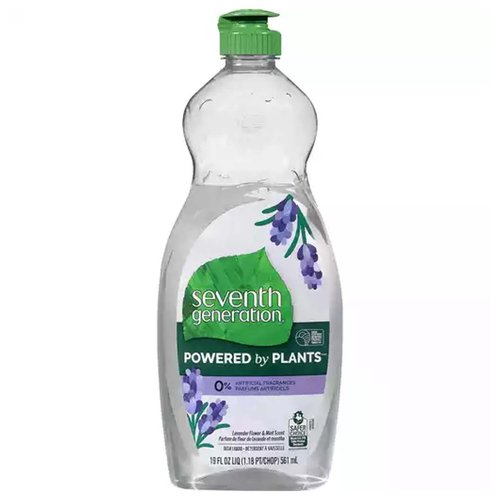 7th Gen Dish Soap Lav Mint, 19 Ounce