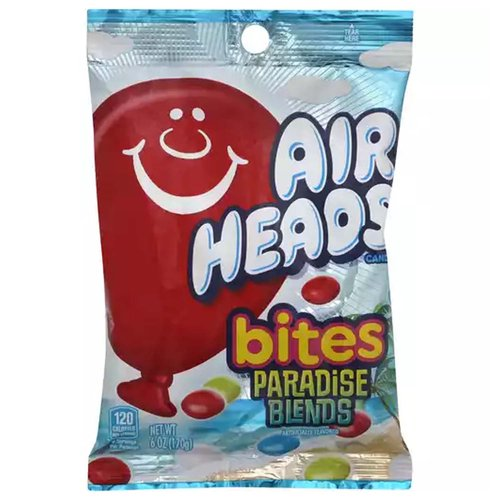 Airheads Bites Paradise Blnds, 6 Ounce