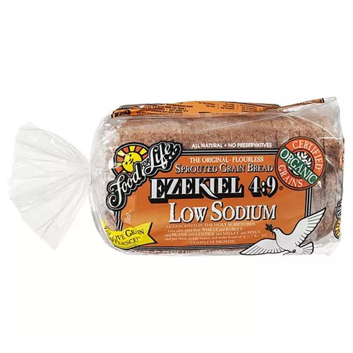 Sprouted Grain, Low Sodium