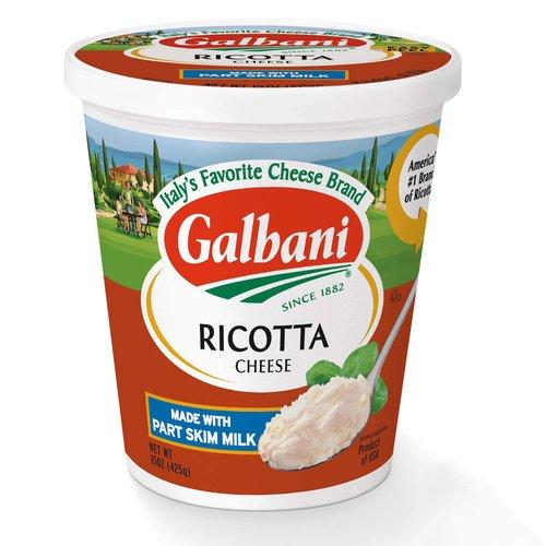 <ul> <li>Italy's favorite cheese brand</li> <li>Made with part skim milk</li> </ul>