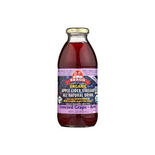 <ul> <li>USDA Organic</li> <li>Made with World Famous Bragg Organic Apple Cider Vinegar</li> </ul>
