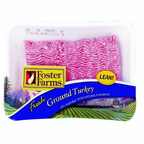 <ul> <li>Foster Farms Organic Ground Turkey,93% Lean 7% Fat <li>Raised on Organic Vegetarian Feed <li>No Added Antibiotics Hormones or Steroids used in  Turkey <li>Fresh & All Natural <li>USDA Organic <li>Free Range <li>Ground Turkey with Natural Flavoring <li>Always Fresh Never Frozen <li>Cook all meats thoroughly</li> </ul>